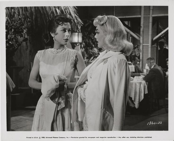 Hedy Lamarr Jan Sterling The Female Animal 1958 Original Scene Still