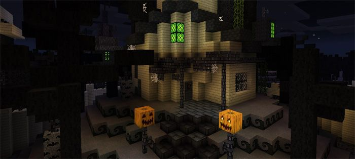 This town is an ideal option for Halloween. It is not only cool but also mysterious. You will be impressed by both scary creatures and beautiful structures. How does Halloween Town [Creation] Map work? Founded by: ilikecutepeople Ported by: Spider_Mau744 Type /time set 14000 to spawn on the map... https://mcpebox.com/halloween-town-creation-map-minecraft-pe/