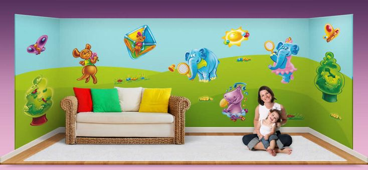 wall stickers, child's room http://www.flymybutterfly.com/en/slides/slide-08.jpg