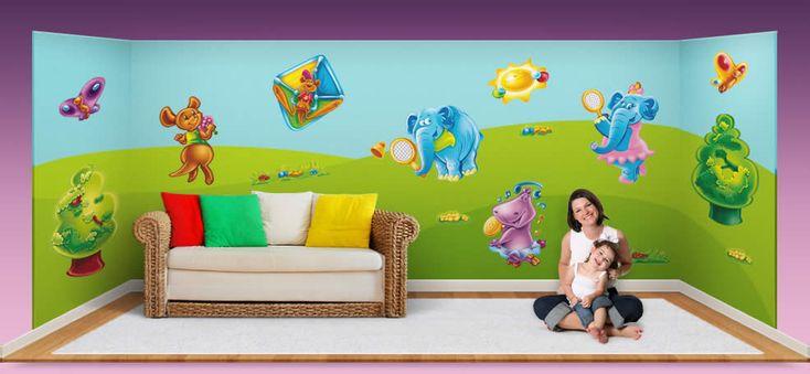 wall stickers, child's room http://www.flymybutterfly.com/en/slides/slide-08.jpg