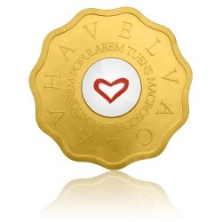 Zlatá medaile Bořek Šípek - Macroscopium rationem popularem tuens stand | Česká mincovna