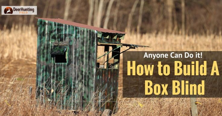 If you follow this simple guide, you'll soon know how to build a deer blind that'll be unnoticeable and allow you a chance at the big ones.