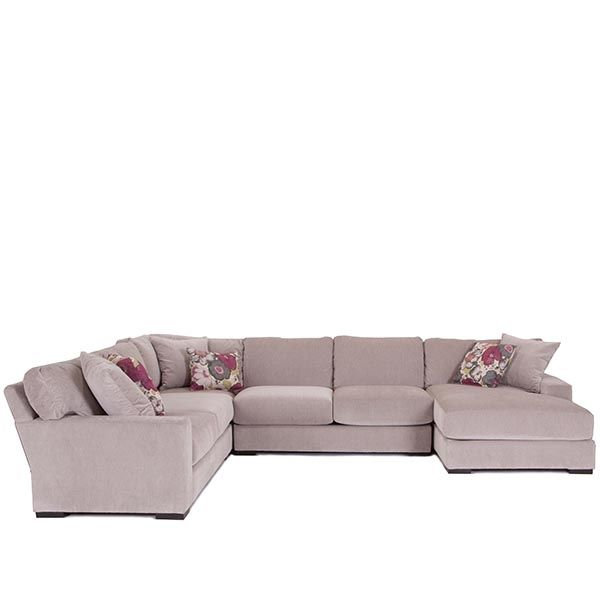 French Martini 4 Piece Chaise Sectinal