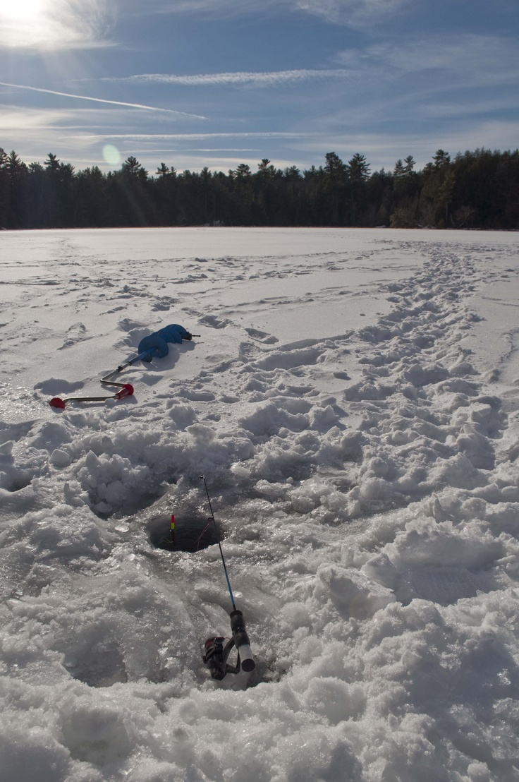Hard water fishing northern wisconsin outdoors for Northern wisconsin fishing resorts