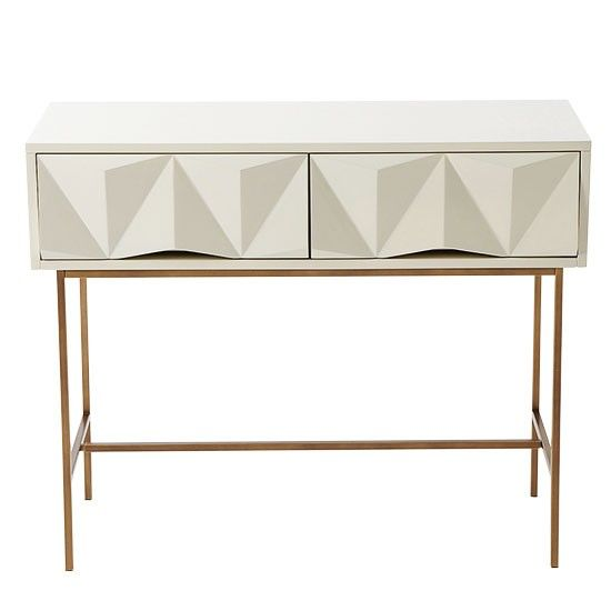 Geo Console Table From West Elm