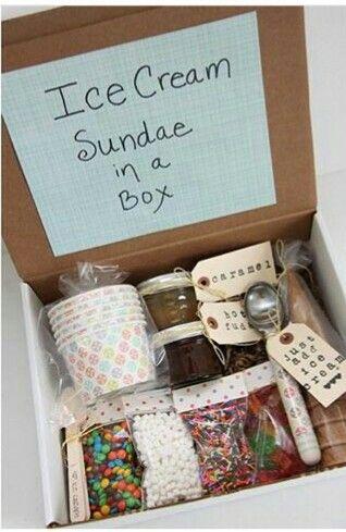 Cadeau sundae