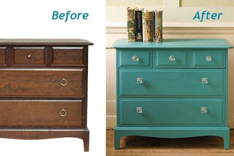 Painted Furniture: 21 Inspirational Makeovers Here!