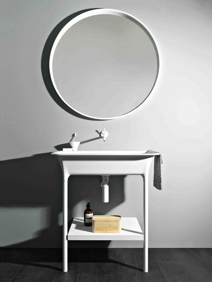 KOS washbasins designed by Ludovica Roberto Palomba