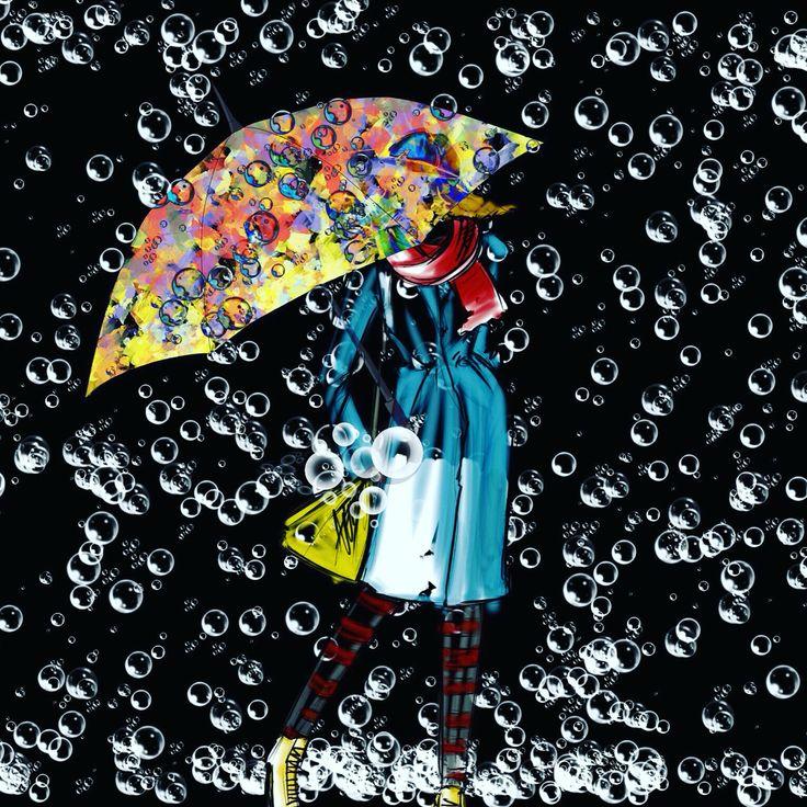 Its raining bubbles