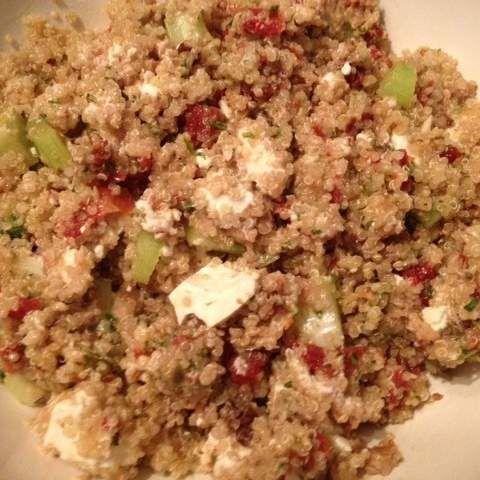 Walnut, Feta and Quinoa Salad