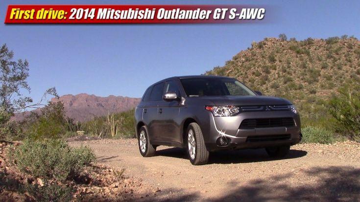 First drive 2014 Mitsubishi Outlander GT SAWC
