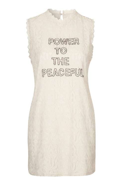 Power To The Peaceful Dress by Native Rose
