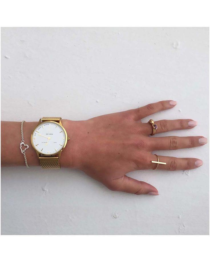 NICK CABANA Nilaya Dawn Mesh Metallic Bracelet Κωδικός NC210