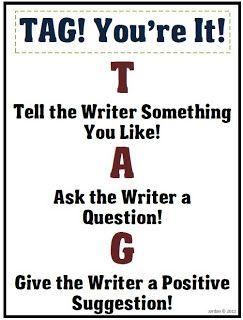 Classroom Freebies Too - TAG the writer