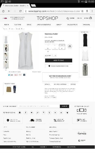 Example of price range for my brand