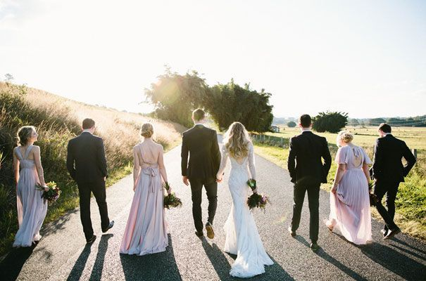 KATH   CALEB- this is how you do a bridal party and omg do you see this dress?!  I die!