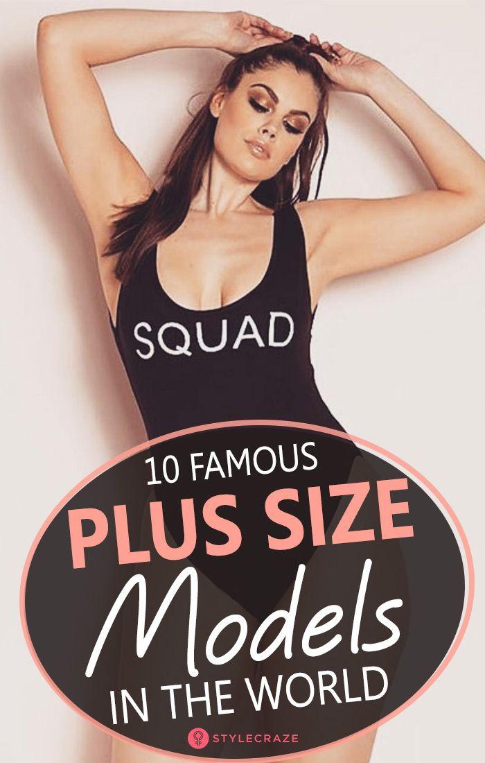 list of plus size model models