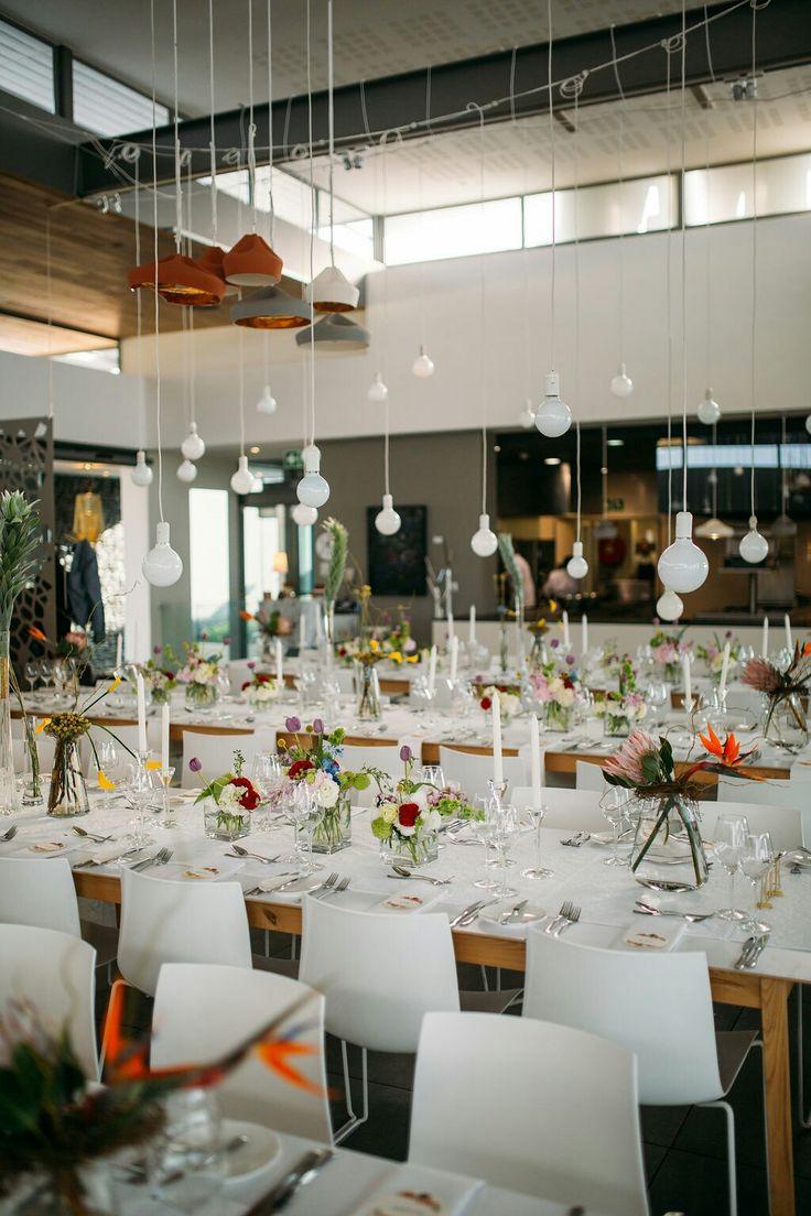 Gorgeous wedding of Terry and Nadine. Elegant white and pops of colour wedding  Www.ido4u.co.za