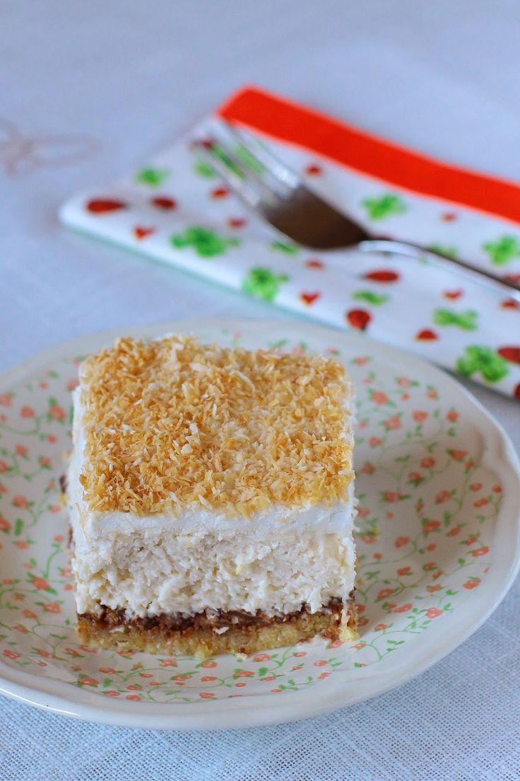 Ez tulajdonképpen egy 2:1-ben recept. Mert lefagyasztva remek kókuszos jégkrém tortát készíthetünk belőle. Hogy honnét tudom? Véletlenül...