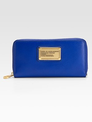Marc by Marc Jacobs Classic Vertical Zippy Wallet LOVE THE COLOUR