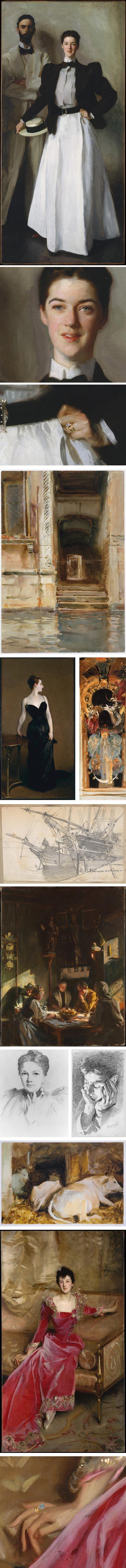 John Singer Sargent http://www.linesandcolors.com/2012/01/12/john-singer-sargent-on-met-museum-website/