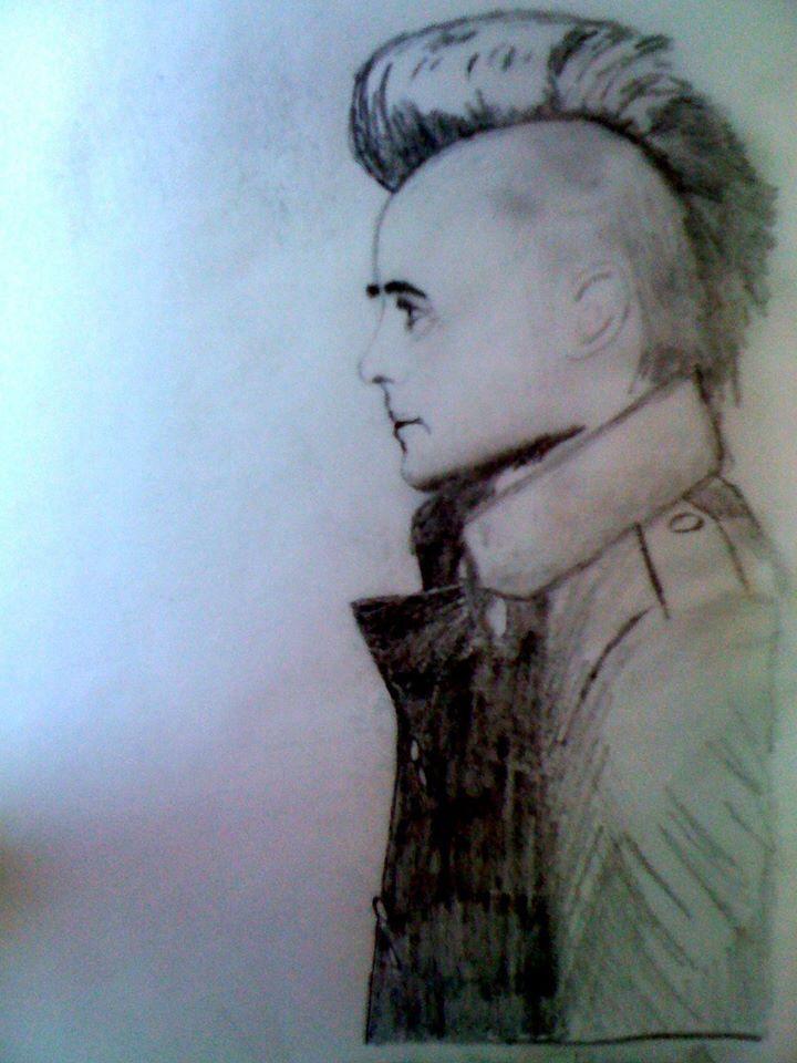 Jared Leto. Mohawk. r.hattonx