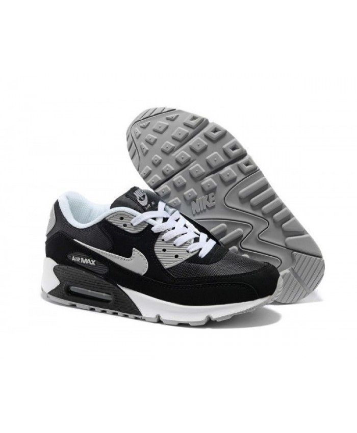 newest collection 991b9 90913 Mens Nike Air Max 90 2014 Black Grey White 6809331-072