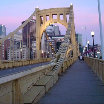 Roberto Clemente Bridge - Pittsburgh, PA, United States