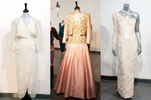 Zandra Rhodes white chiffon dress, worn to the Birthright benefit in London in 1987 (estimated price: a Catherine Walker pink silk gown and bolero, made for the State visit to India in 1992, and a Catherine Walker pink sequined gown, worn on a State visit to Brazil in 1991 See All 10 Princess Diana Dresses Up for Sale -- The Cut