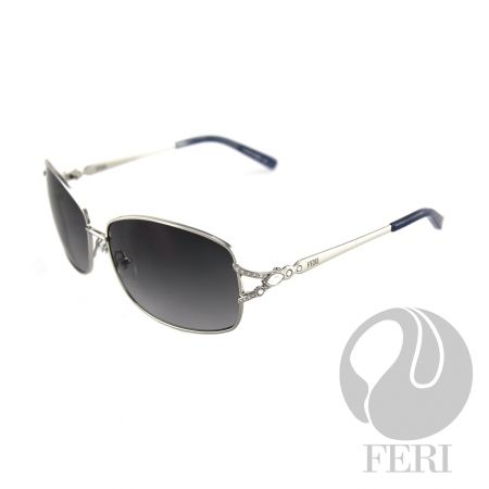 FERI Paris - Silver Shield - FERI frames are manufactured in Italy - Lenses are UV 400 and provide protection against harmful UV rays - Mazzucchelli acetate is used - Mazzucchelli is the world leader in acetate production - Acetate is a hypo allergenic plastic - Acetate is used for its shine, color depth and durability  Invest with confidence in FERI Designer Lines.