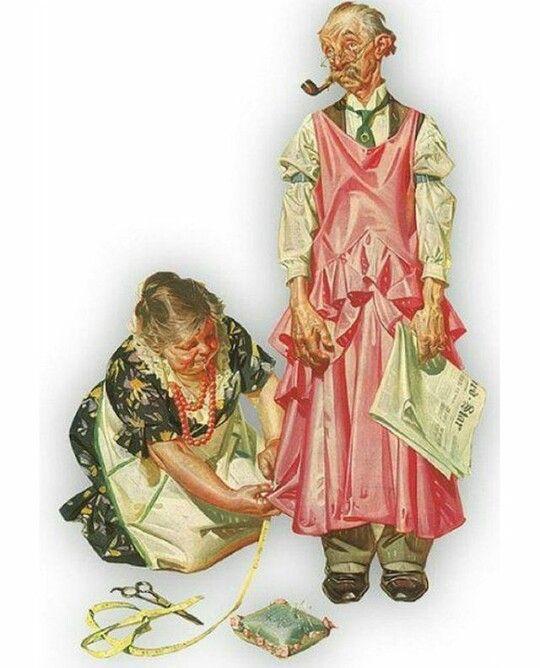 Сентября, смешные картинки про шитье одежды