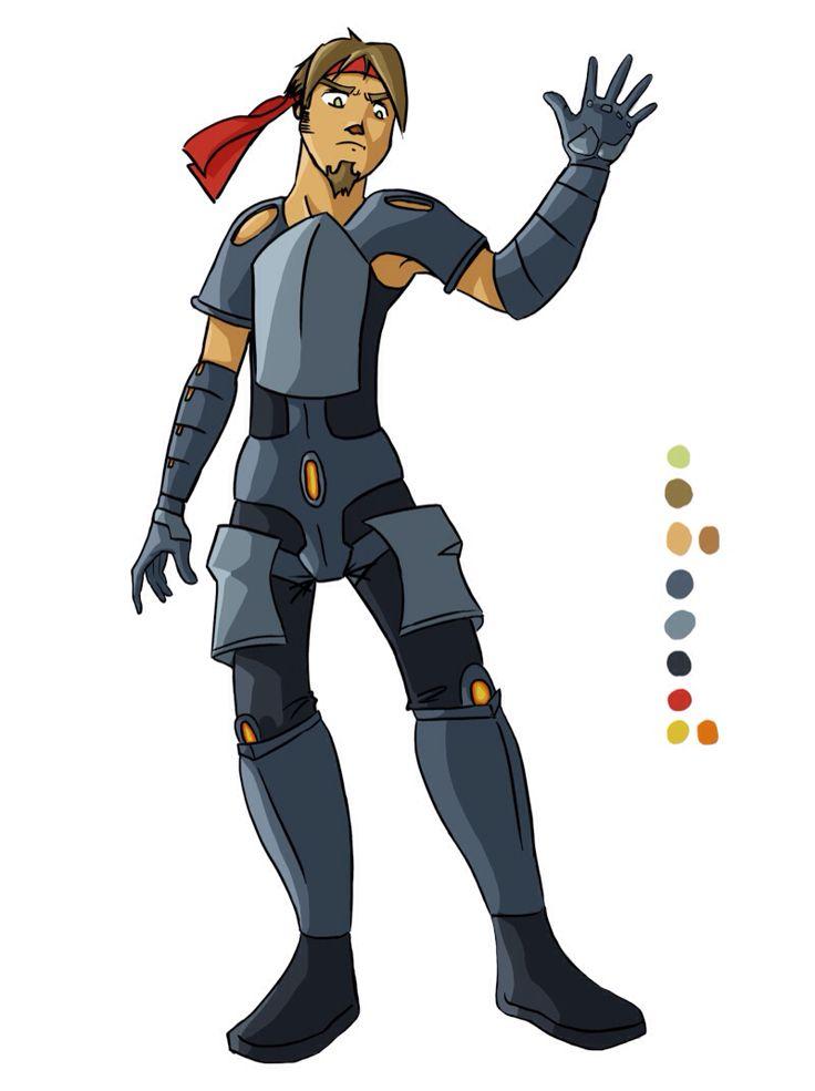 Chara-design exo armure 2    by Adilas