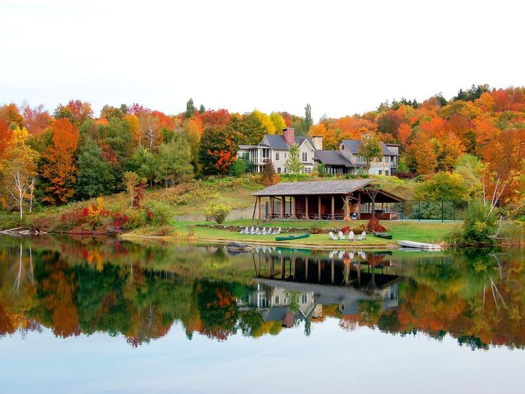 """Head to Twin Farms in Barnard, Vermont, the highlight of New England's rural retreats, for high design cottages, farm-to-table spreads, and sprawling 300-acre grounds. Days are filled with outdoor pursuits, strolls through fall foliage, old-fashioned pampering, and plenty of new-fashioned gluttony at this all-inclusive Relais & Chateaux property, which specializes in over-the-top ten-course, wine-paired meals. Book 48 hours in advance for a spot in the new """"cooking suite,"""" a stylish…"""
