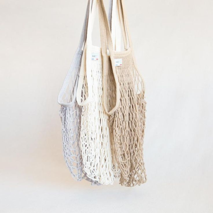 French Market Bag / chic reusable bags / zero waste grocery totes