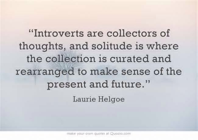 the importance of introversion in our In a recent hiatus from our home, i have come to understand how important my  home is to my self-care as a highly sensitive introvert.