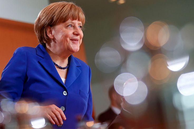 Самые влиятельные женщины мира. Канцлер Германии АНГЕЛА МЕРКЕЛЬ.
