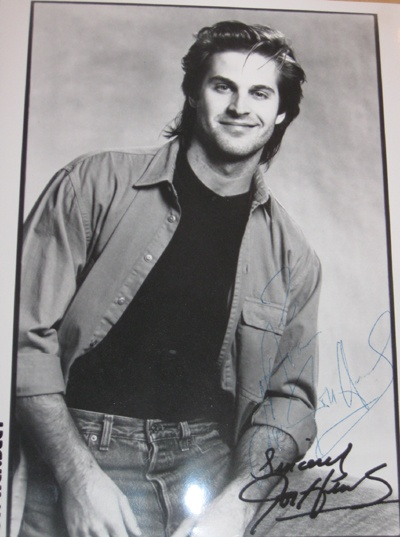I met John Hensley AKA Holden Snyder from As the World Turns - we met in a club/bar back in 1989 and he signed an autograph for me! Nice guy!
