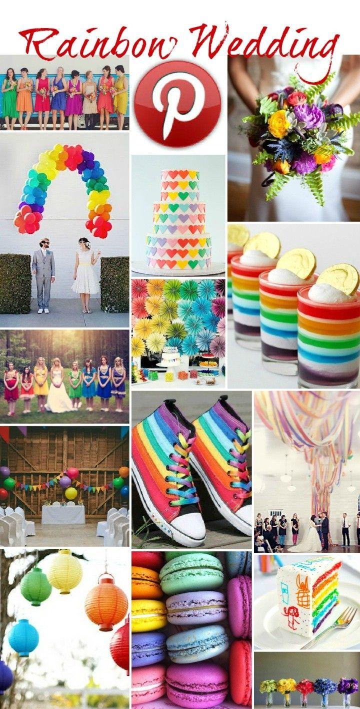 Boho Pins – Rainbow Weddings