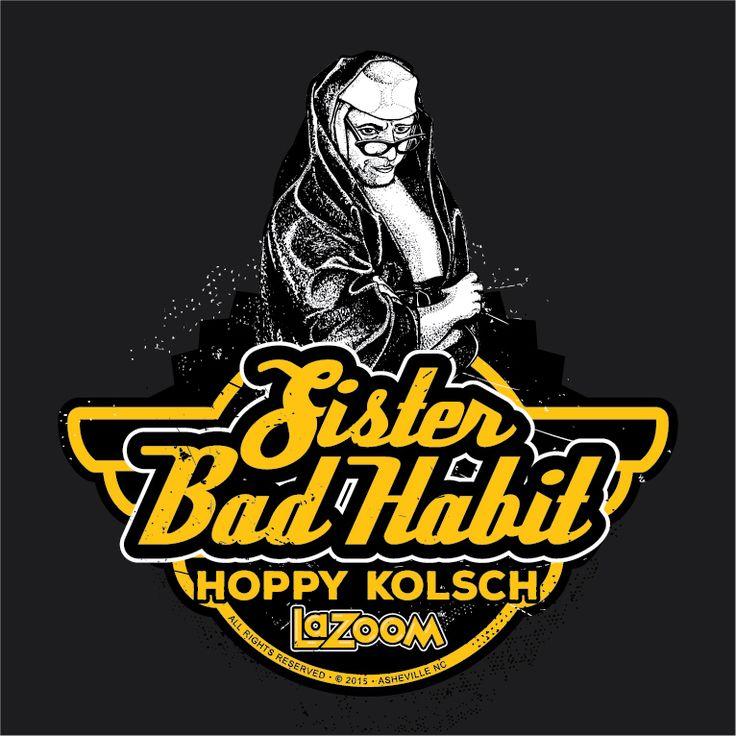 Sister Bad Habit Kolsch – Asheville Brewing Company