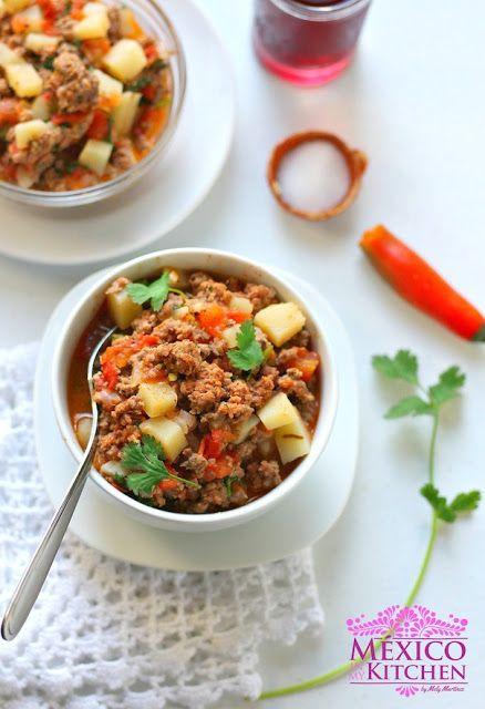 Beef Picadillo Recipe | Mexican Picadillo Recipe| Authentic Mexican Recipes by Mexico in My Kitchen