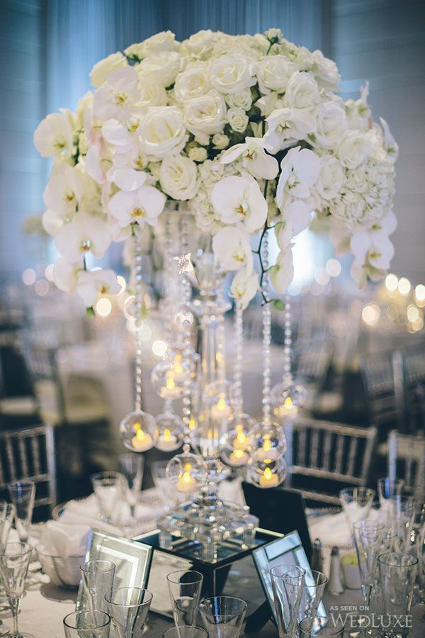 287 best CENTERPIECES White Ivory Cream images on Pinterest