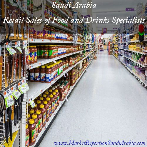 Retail Sales of #FoodAndDrinks Specialists in #SaudiArabia