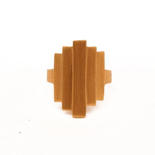 Pernille Corydon Gold Brick Ring