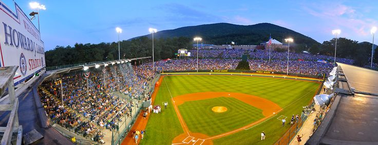Little League World Series, better then March Madness.South Williamsport, Williamsport Pa, Pinners Wrote, Marching Mad