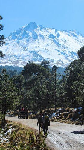 rumbo al nevado de Toluca
