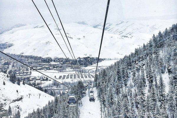 The Only Guide You'll Ever Need to Sun Valley, Idaho Ski Resort #skiing