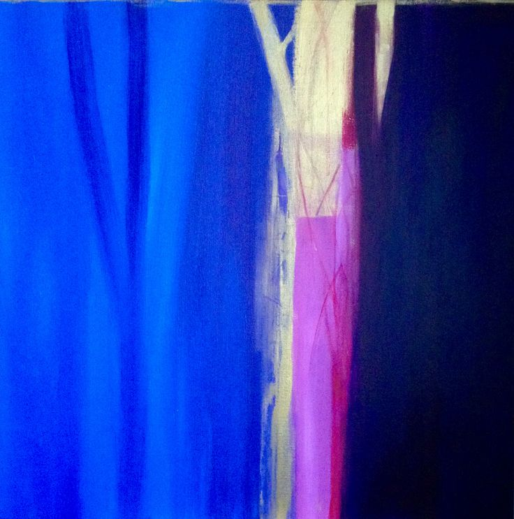 "Patrizia Biaducci ""Tree of life"" 2016 dittico n.2 acrilic on canvas"