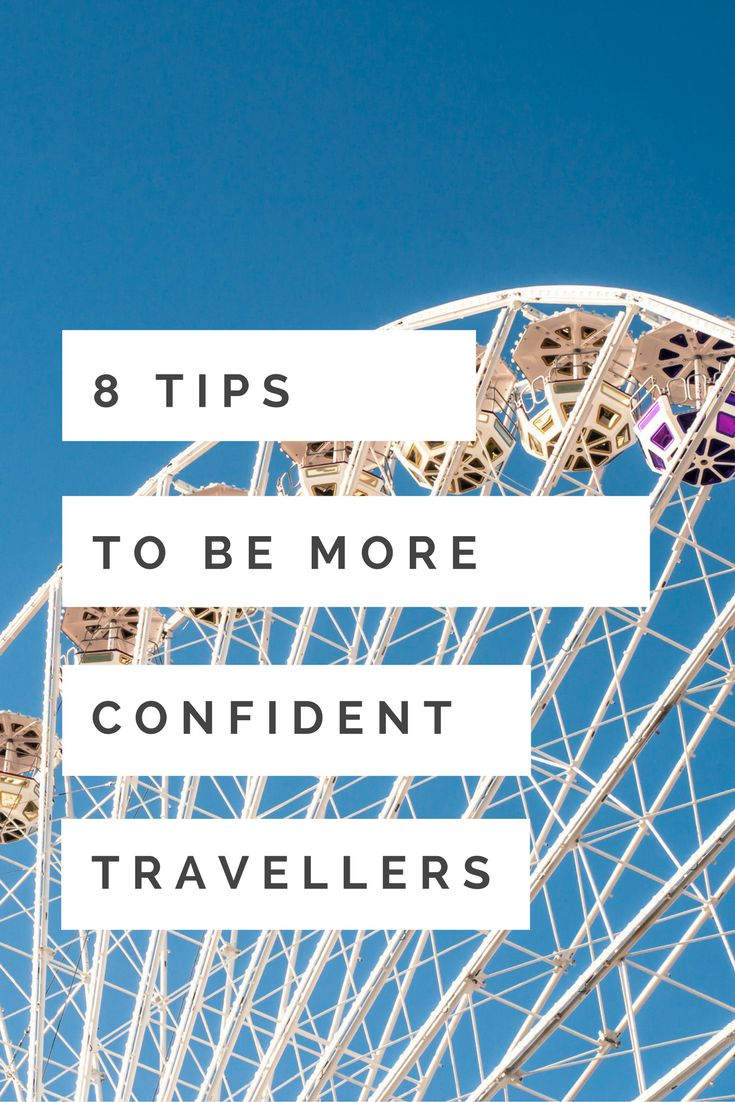 Do you want to travel more but you feel that you are not ready? Or you just have that feeling that you can't do it? Here are my 8 tips to overcome your anxieties!