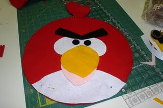 angry birds pillow