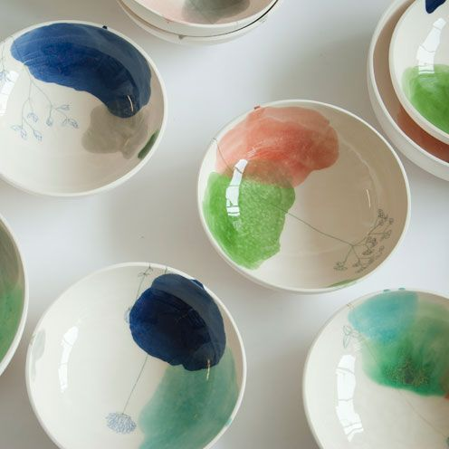 pintura platos